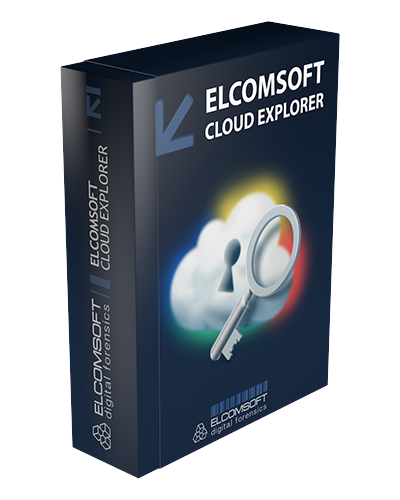 Elcomsoft Cloud eXplorer